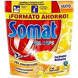 Somat Gel con Limón Limpia Vajillas Máquina - 30 Cápsulas