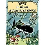 Herge les aventures de Tintin: Le Tresor de Rackham LE Rouge Póster
