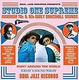 Studio One Supreme - Maximum 70s & 80s Early Dancehall Sounds (3LP + D.Code) [Vinyl LP] -