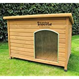 Kennels Imperial® Extra Large Insulated Wooden Norfolk Dog Kennel With Removable Floor For Easy Cleaning