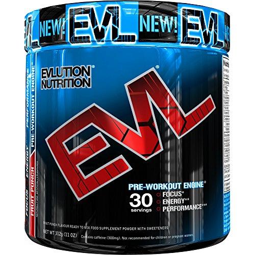 Evlution Nutrition ENGN, Ernährungsergänzung Vor Dem Training, 30 Portionen, Früchtepunsch