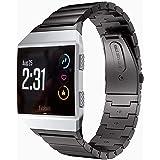 Aimtel Armbanden compatibel met Fitbit Ionic armband, metalen roestvrij staal, reservearmband met link removal kit compatibel