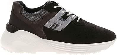 Hogan Luxury Fashion Uomo HXM4430BR10O8K0XN0 Nero Pelle Sneakers | Autunno-Inverno 20