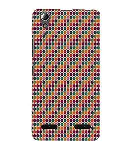 Fiobs Designer Back Case Cover for Lenovo A6000 Plus :: Lenovo A6000+ :: Lenovo A6000 (Colorful Patterns Designs Black Zig Zag)