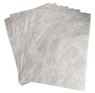10 Blatt Klebefolie Glitzer Selbstklebende Dekofolie A4 Farbige Bastelfolie Glitter Vinyl Aufkleber für DIY Handwerk Scrapbooking