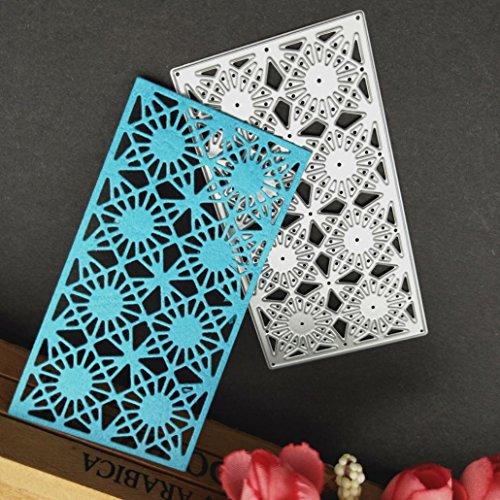 squarex Metall Formen Schablone DIY Scrapbooking Prägung Album Papier Karte Lovely Craft Geschenk, Karbonstahl, g, AS - 64-pinsel-set