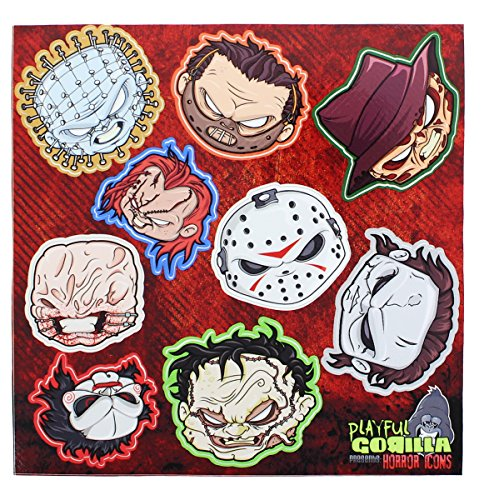 or Icons Stickers (Michael Freddy Jason)