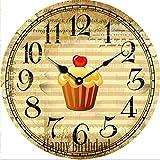 Y-Hui Clock Clock Clock Mute Quartz Clock Watch Bedroom Living Room,D