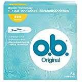 o.b. Original Normal Tampons, 1er Pack (1 x 64 Stück)