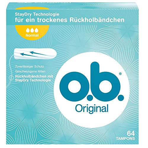 o.b. Original Normal 64er, 1er Pack (1 x 64 Stück)