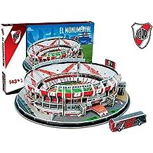 River Plate El Monumental Stadium 3D jigsaw puzzle (kog)