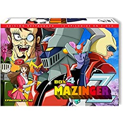 Mazinger Z Box 4 Dvd