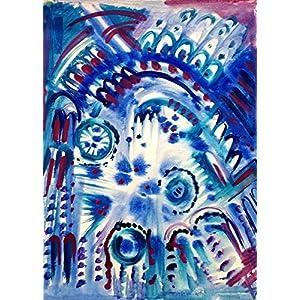 Abstrakt A3 Karton Wohnzimmer Bilder Wand Bilder Bilder Büro Bild groß Gemälde Kunst Wanddekoration Graphik Karton Handmade Bilder Exclusiv Bild A4 Original Geschenk Weihnachtsgeschenk Unikat