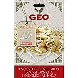 Geo ZFG0103 Fieno Greco Semi da Germoglio, Marrone