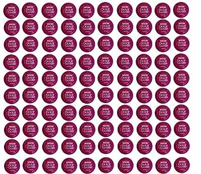 100 x Nescafé Dolce Gusto Espresso Coffee Pods, 100 Capsules by Dolce Gusto
