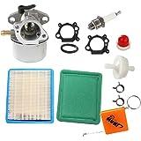 HURI carburateur & O-ring met tuning kit luchtfilter bougies benzinetfilter voor 799868 498170 497586 497314 698444 498254 49