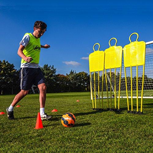 Football Free Kick   Coaching Mannequin - Become A Dead Ball Specialist   Junior - 5ft 4   Net World Sports