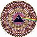 DJ Record Turntable Slipmats WIGGLE TRIANGLE ILLUSION EFFECT SLIPMAT x 1 (Single)