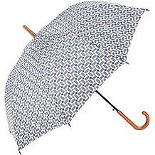 Gotta Parapluie Long Femme résistant au Vent - Ouverture automatique Motifs Bleus Paraguas clásico, 90