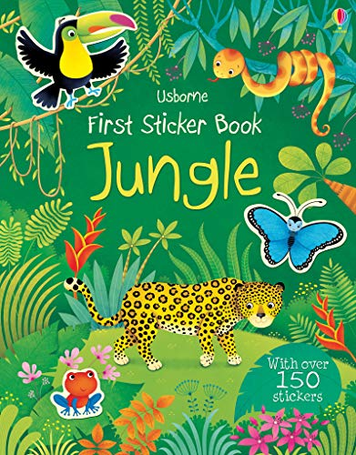 First Sticker Book Jungle (First Sticker Books) por Alice Primmer