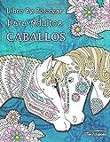 Libro de Colorear Para Adultos Caballos + BONIFICAR más de 60 páginas para...