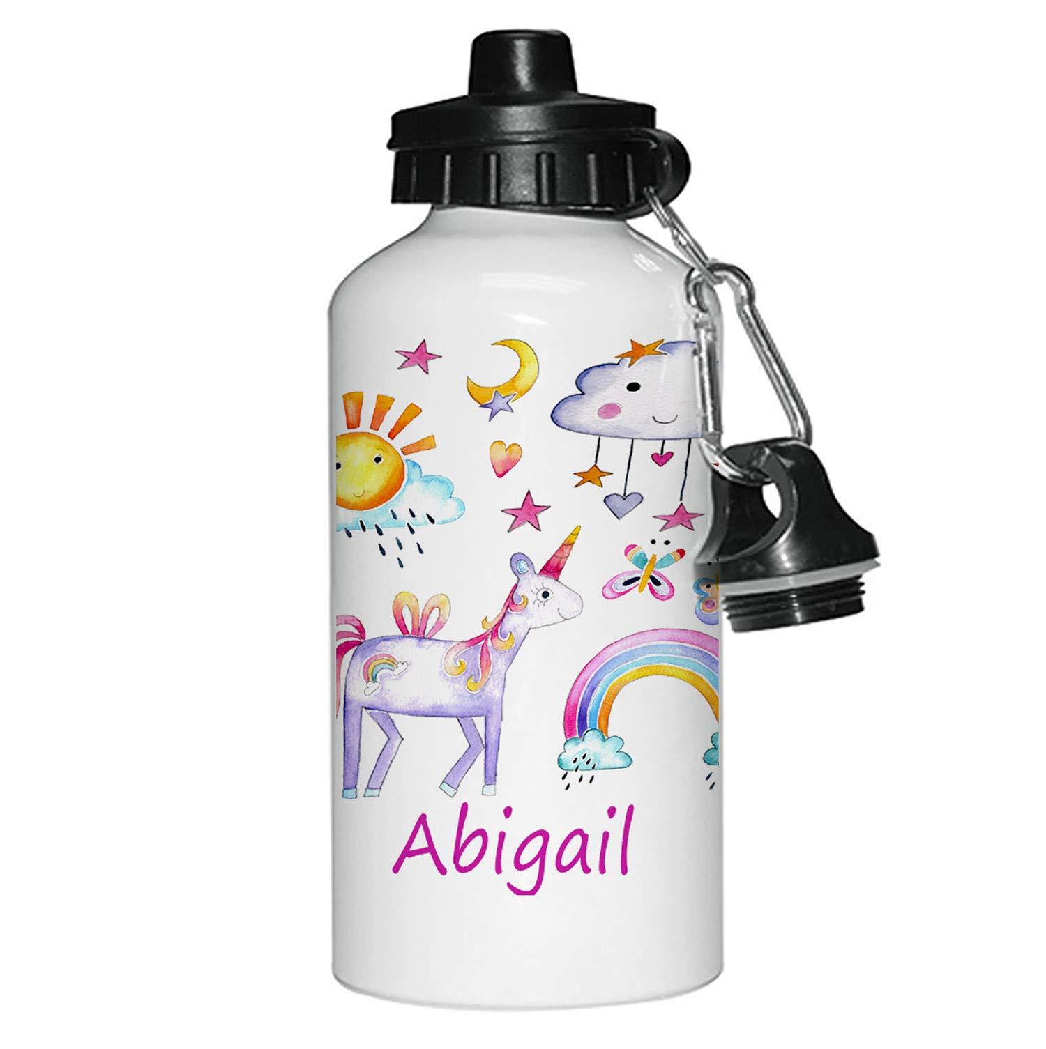 Personalised-Unicorn-Girls-Drinks-Water-Bottle-Girls-Unicorn-Gifts