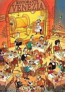 Heye - Heye-29124 - Puzzle Classique - Pasta Italiana - Degano - 1000 Pièces