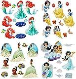 alles-meine.de GmbH 44 tlg. Set _ Fensterbilder -  Disney Prinzessin - Princess  - Sticker Fenst..