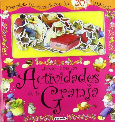 Juego con las actividades de la granja, juego con imanes por Susaeta Equipo