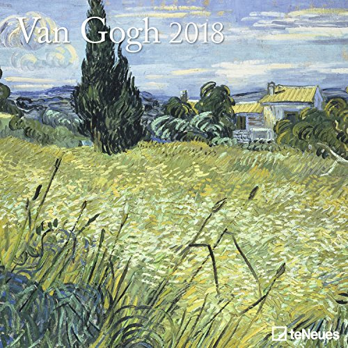 Preisvergleich Produktbild Van Gogh 2018 - Kunstkalender 2018, Wandkalender, Broschürenkalender, Post-Impressionismus  -  30 x 30 cm