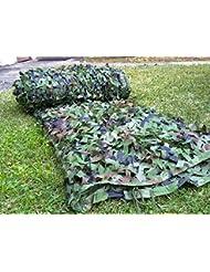 Alan 2pcs Filet de Camouflage Armée Camouflage Armée Allemande Army Camouflage à réseau 10mx10m chasse