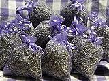 5 x Lavendelsäckchen mit echtem französischen Lavendel - Insgesamt 50 g Lavendelblüten