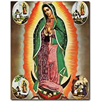 Virgin Mary Our Lady Of Guadalupe Mexican la virgen de Art Print Poster (16x20)