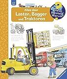 Alles über Laster, Bagger und Traktoren (Wieso? Weshalb? Warum?, Band 38)