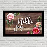 Nutcase Personalized Wooden Name Plate -...