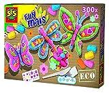 Ses 24984 - Eco Fun Mais Farfalla, 300 Pezzi