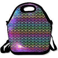 Cool Colorful Sonnenbrille Lunch Bag Handtasche Lunchbox für Schule Arbeit Outdoor preisvergleich bei kinderzimmerdekopreise.eu