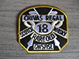 Chivas Regal Scorch 18 Whisky Rare Old GW57151 Embroidered Badge Patch Sew on Iron on 7cm x 7cm