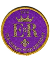 Scouting Badge Queen's 90th Birthday Woven Badge - Collectors Item!