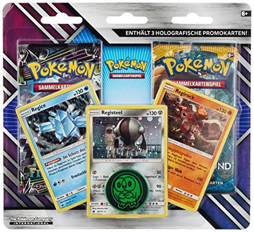 Pokémon Company International 45012 - PKM Enhanced 2-Pack Blister #02 DE (Pokemon Generation)
