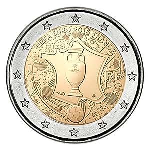"""Frankreich – 2 Euro Gedenkmünze 2016 """"UEFA"""""""
