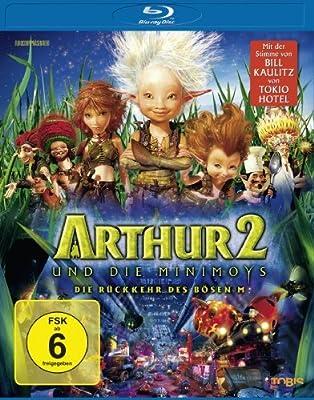 Arthur und die Minimoys 2 - Die Rückkehr des Bösen M / Arthur and the Invisibles 2 (GER) ( Arthur et les Minimoys ) (Blu-Ray)