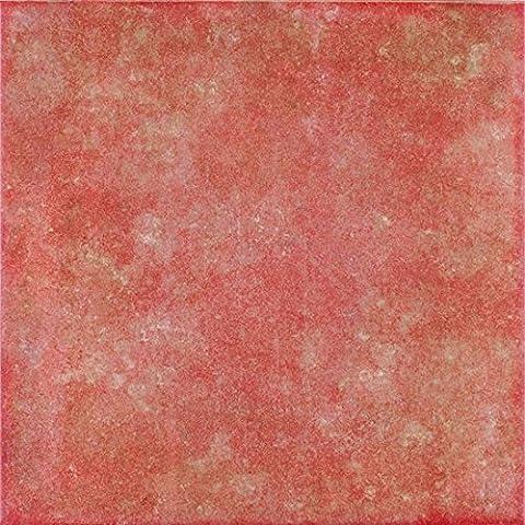 Zementoptik Bodenfliesen cotto glasiert 24x24x1,0cm 1 Karton = 1,0qm Mosako