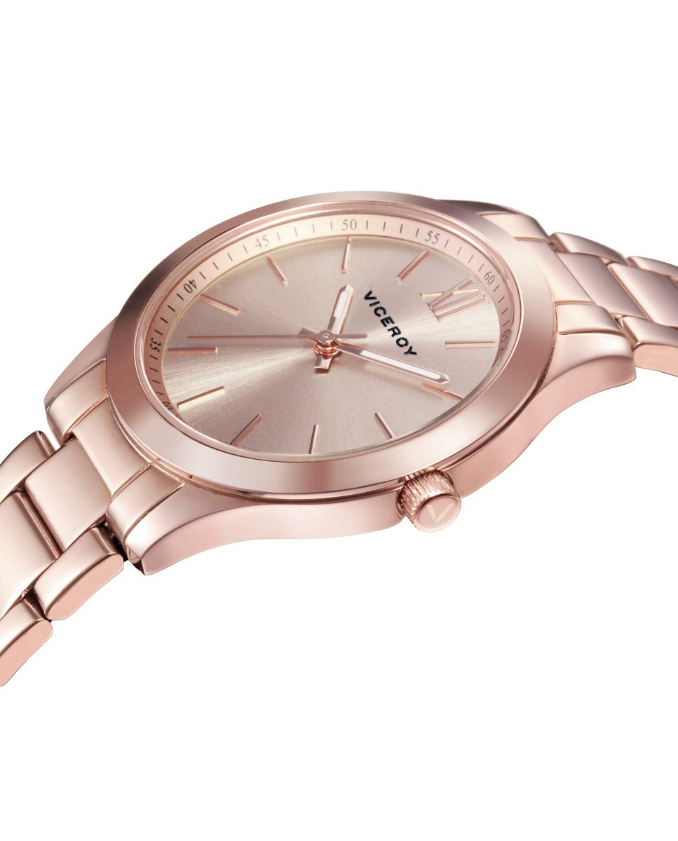 Viceroy 401068-93 – Reloj para Mujer Acero IP Oro Rosa