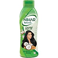 Nihar Naturals Jasmine Hair Oil, 200 ml Bottle