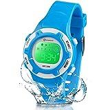 Reloj Niños Niña Digital,Reloj Infantil Digital Multifunción con Pantalla LED Impermeable para Niños, Niñas Reloj Infantil Ap