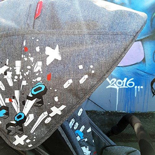 phil&teds Sport Stroller, Graffiti