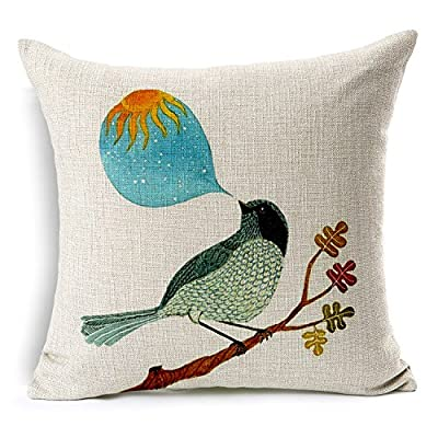 PinnLife pillow case cover,Cotton Linen 18X18inch,Fantasy - inexpensive UK cushion store.