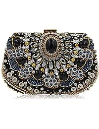 Damentaschen Braut-accessoires Luxus Abendtasche Handtasche Perlen Kristall Tasche Schultertasche Brauttasche Spezieller Sommer Sale