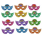#8: Infinxt Happy Birthday Party Face Eye Mask Pack of 10